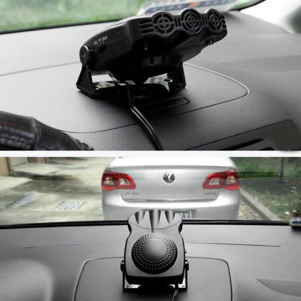 3 Chaud 12V 150W Auto voiture chauffage Portable 2 en 1 chauffage ventilateur de refroidissement voiture s Désembuage et Dégivrage Appareil de Chauffage Pour Voiture