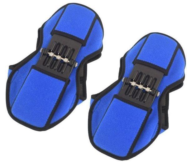 Les Genouillères PowerKnee Pro s': Genouillères de Soutien articulair - Bleu