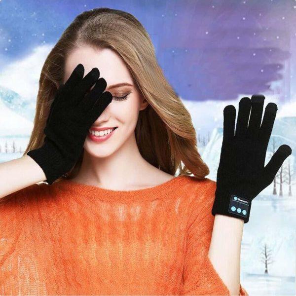 3 c3d9badf 3e1c 4001 afe0 dbe6e5cdd9b3 Gants Bluetooth: Gants Tactiles Noir Parfait Pour L'hiver