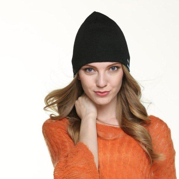 4 Casque d coute sans fil Bluetooth casque casque intelligent casque haut parleur micro hiver Sport de 1 Bonnet D'hiver : Avec Haut-parleur Sans Fil Bluetooth