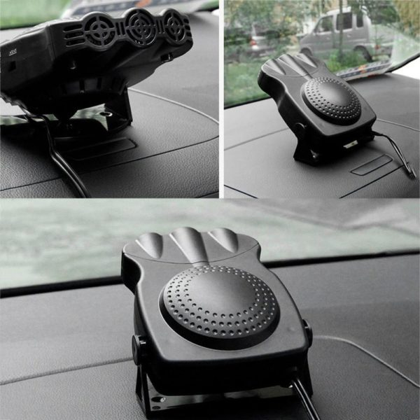 4 Chaud 12V 150W Auto voiture chauffage Portable 2 en 1 chauffage ventilateur de refroidissement voiture s Désembuage et Dégivrage Appareil de Chauffage Pour Voiture