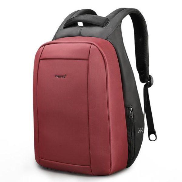 4 Tigernu Hidden Anti theft Zipper 15 6 inch Men School Laptop Backpacks Water Repellent Travel 20L Sac à Dos voyage Anti-vol : Chargeur USB, Waterproof, Anti-choc, Anti-coupure