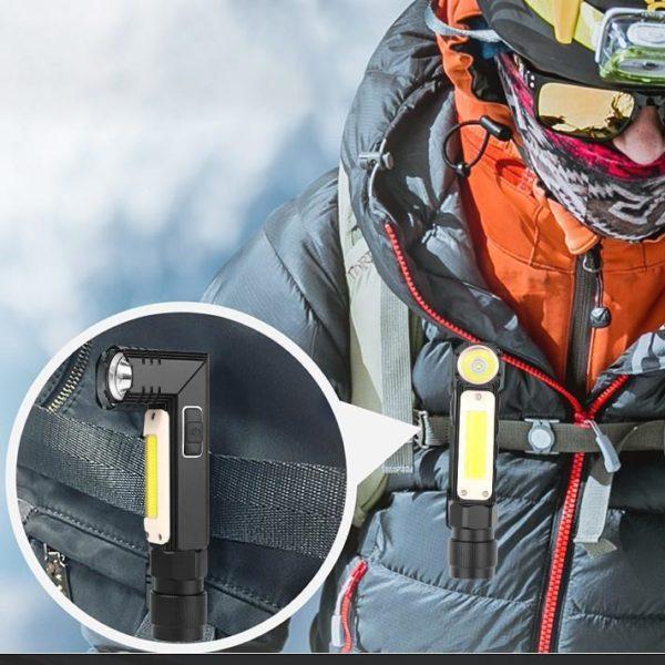 Lampe De Poche Multifonctionnelle: Vous Permet D'explorer Les Zones Très Sombres - Petite Taille