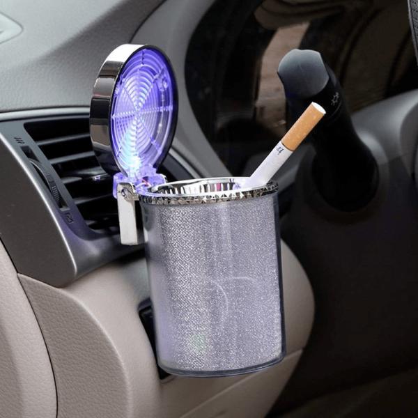 5 556cbe8c 0e8d 4dff a724 LED Cendrier Lumineux Colorés De Voiture : Accessoire De Voiture Idéal Pour Les Fumeurs