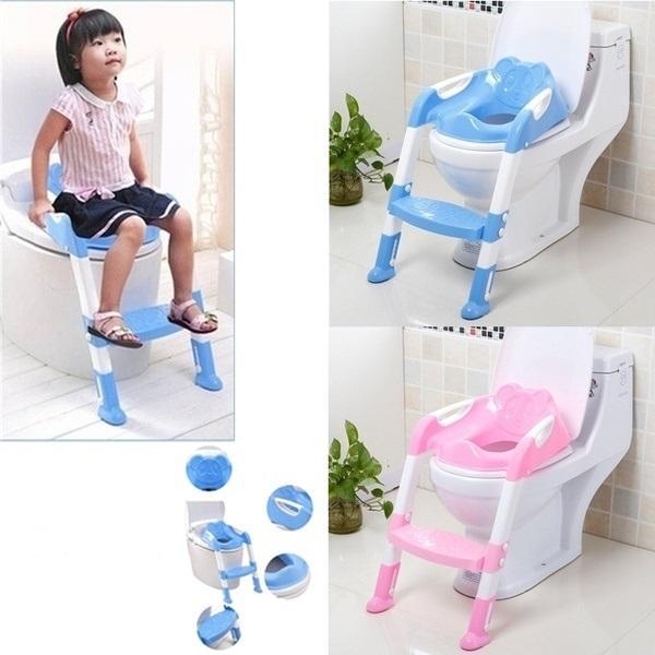 Adaptateur de Toilette Pour Bébé : Cultivez Des Habitudes de Toilettes Indépendantes - Bleu