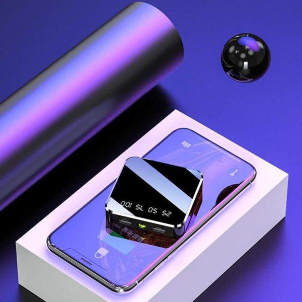 Mini Power Bank 30000mAh: Batterie externe pour iPhone, Samsung Galaxy, etc.