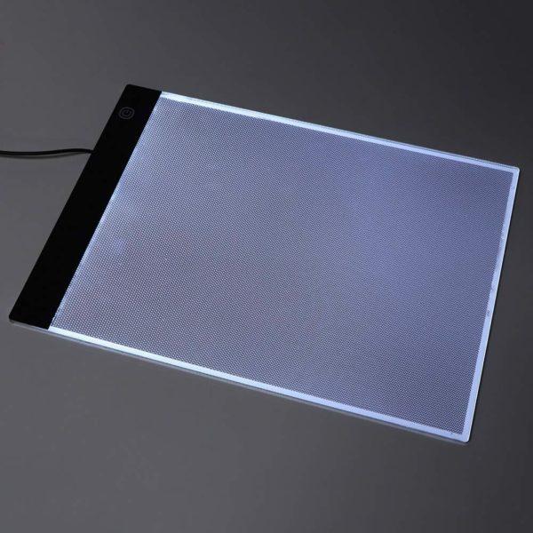 LED Light Pad : Tablette de Traçage Parfaite et Pratique LED/ Gradation à trois niveaux