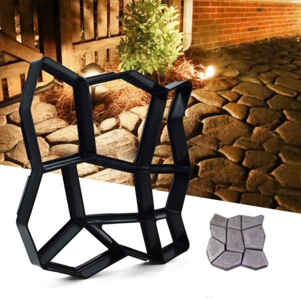 Moule Pour Pavage de Jardin : Retiennent le Coulis de Ciment