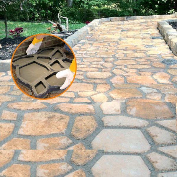 81Dr Ge0TvL. AC SL1500 Moule Pour Pavage de Jardin : Retiennent le Coulis de Ciment