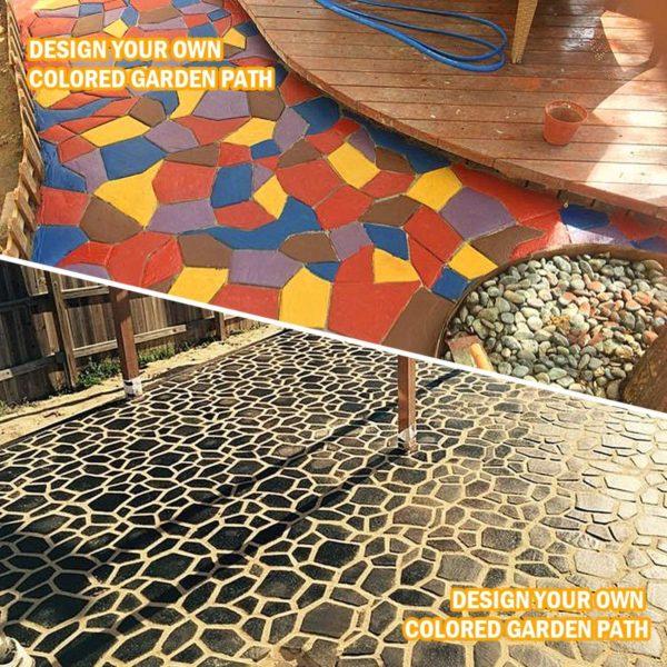 81zpaINfGfL. AC SL1500 Moule Pour Pavage de Jardin : Retiennent le Coulis de Ciment