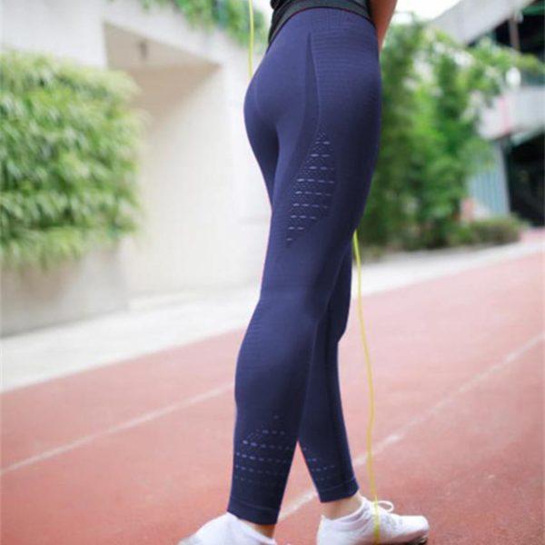 Pantalon De Yoga Pour Femme: Parfait Pour Porter À N'importe Quelle Séance De Sport Ou De Yoga - Marine / Petit