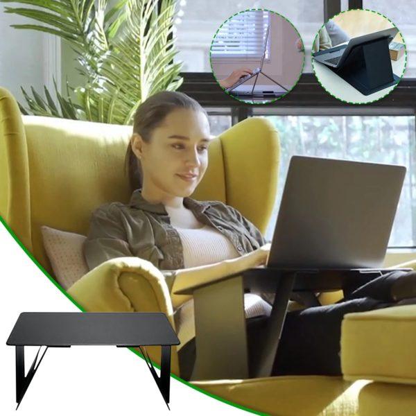 8640cbe3 2261 49cb bc8e fe7bdfce7478 Support D'ordinateur Portable Ultra Confortable : N'ayez Plus Jamais Mal au Cou ou au Dos