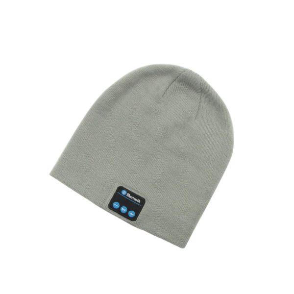 8 Sans fil Bluetooth casque Musique chapeau Casquettes Smart Casque couteur Chaud Bonnets d hiver Chapeau avec Bonnet D'hiver : Avec Haut-parleur Sans Fil Bluetooth