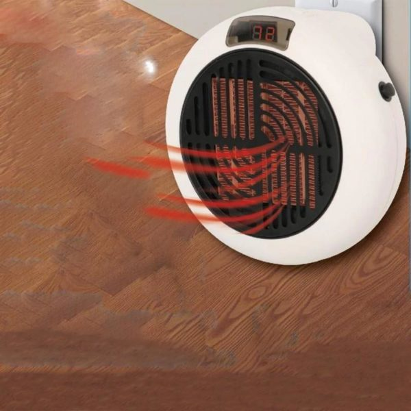Chauffage Électrique Mur Portable : Réduire le Coût de L'électricité en Régulant sa Consommation - Blanc
