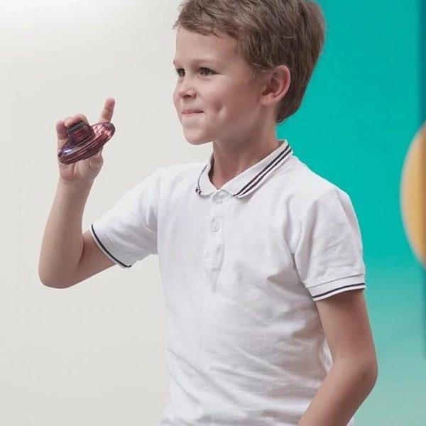 Jouet De Drone Fidget Spinner Pour Enfants Et Adultes: Remède Absolu Pour L'ennui - Rouge