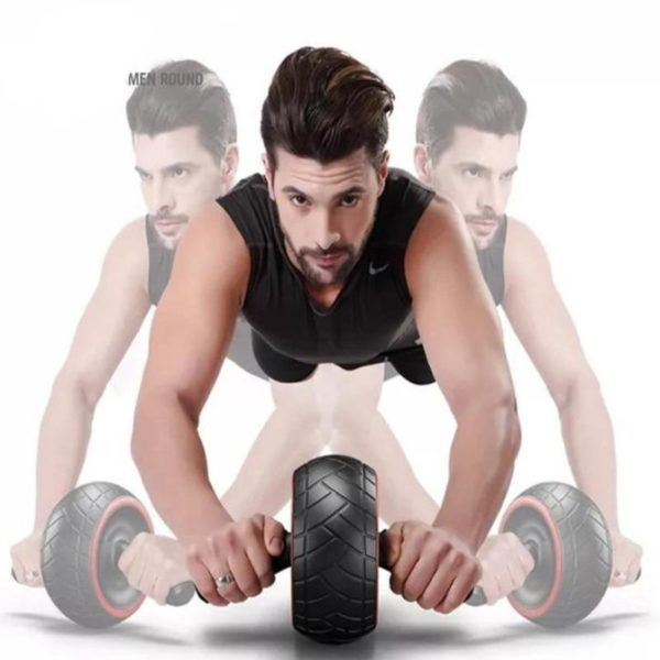 ABS Abdominal Roller Exercise Wheel Fitness Equipment Mute Roller For Arms Back Belly Core Trainer Body 166cd960 7b0a 4943 a297 84563cdc496b Exercice Au Rouleau Abdominal: Idéal Pour Brûler Les Calories en Excès