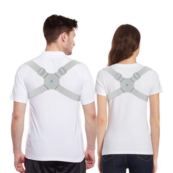 Correcteur de Posture Rappel automatiquement : Réduis Les Douleurs de Dos et de la Nuque - Type 1 / Taille libre(70-120 cm)