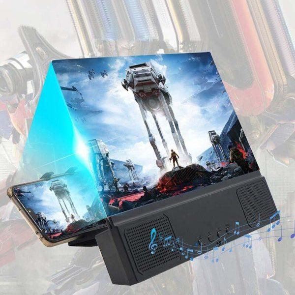 AmplificateurD ecran3D 1 Amplificateur D'écran 3D: Fournir Des Claires, Dynamiques Et Excellente Expérience De Visionnage.