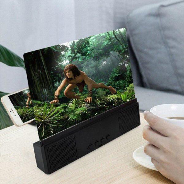 AmplificateurD ecran3D 7 Amplificateur D'écran 3D: Fournir Des Claires, Dynamiques Et Excellente Expérience De Visionnage.