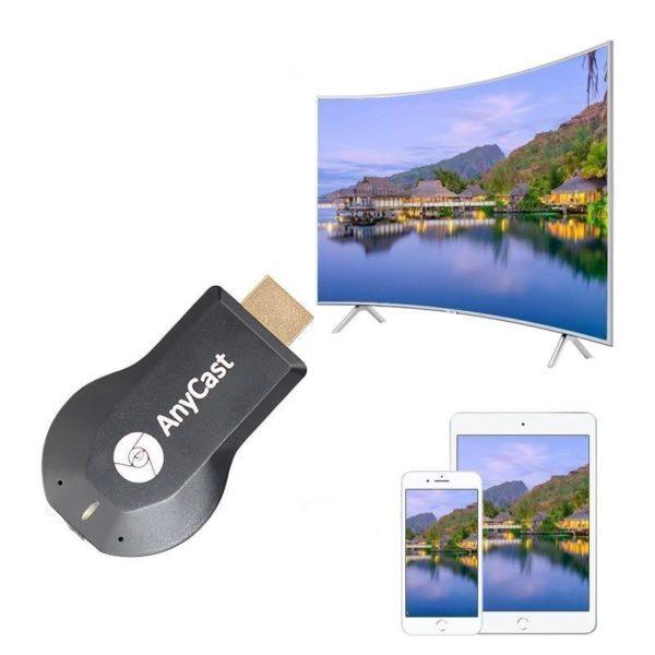 Anycast b ton de t l vision 1080P M4 Dongle de t l vision sans fil Adaptateur HDMI Sans Fil: Basculer Aux Grands Écrans Et Amusez-Vous