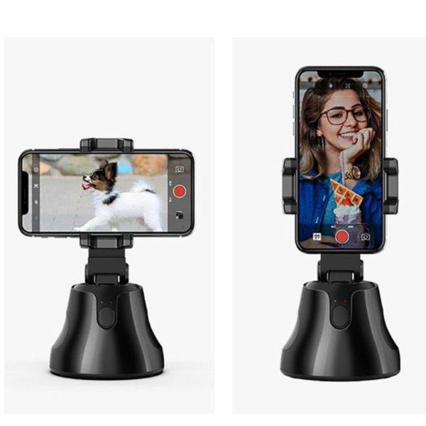 Apai Genie Auto Smart tir Selfie Stick 360 objet suivi support tout en un Rotation visage b9759d5f 0ff0 4e02 b913 bcb609c52943 Stabilisateur Smartphone: Prise de vue avec suivi intelligent
