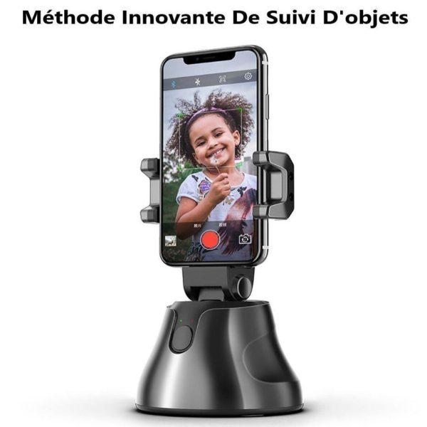 ApaiGenieAutoSmarttirSelfieStick360 objetsuivisupporttout e 11 Stabilisateur Smartphone: Prise de vue avec suivi intelligent