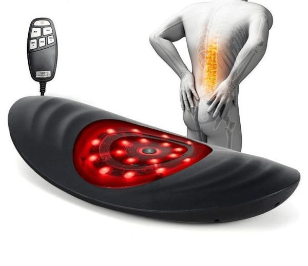 Appareil de Traction lombaire lectrique masseur de taille masseur de Vibration soutien Masseur Dorsal Soutien Lombaire : Pour Un Massage Optimal Mal Au Dos