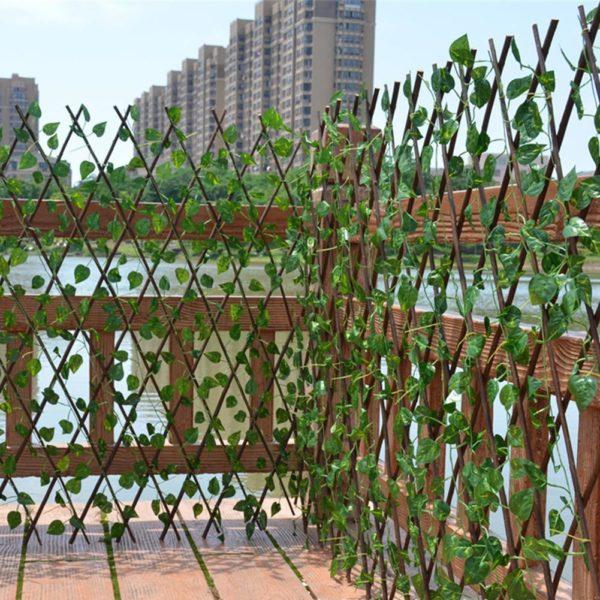 Artificiel jardin plante cl ture UV prot g confidentialit cran ext rieur int rieur utilisation jardin Clôture De Jardin Artificielle: Arrangez-Vous Simplement Pour Que Votre Jardin Soit Différent
