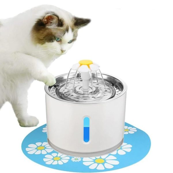 AutomatischerKatzenwasserbrunnen 5 Fontaine À Eau Pour Chat: Faites La Promotion Du Comportement D'alcool De Votre Chat!