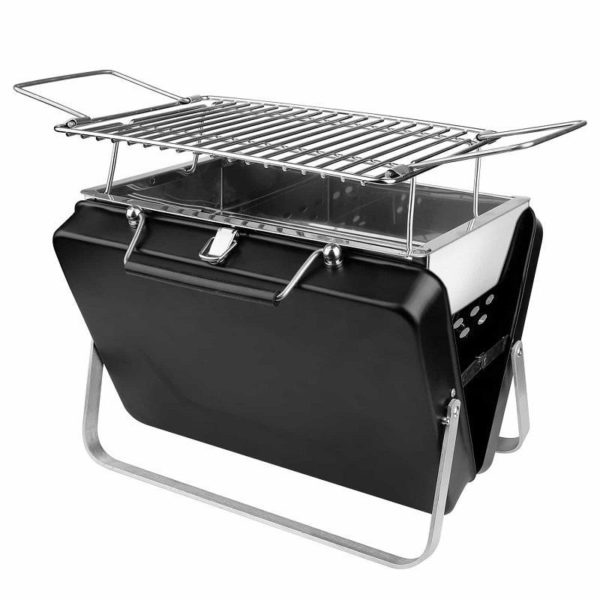 BarbecueCharbonDeBois 3 Barbecue Charbon De Bois : Valise Barbecue À Nomade Et Pliable