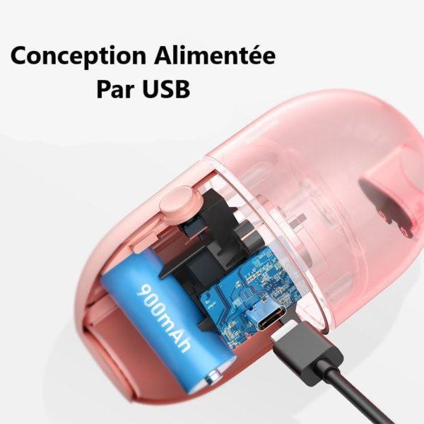 BaseusC2PortableDesktopVacuumCleanerMiniPortableVacuumCleanerForLaptop 4 Aspirateur de Table À Capsules : Faible Bruit et Forte Puissance D'aspiration