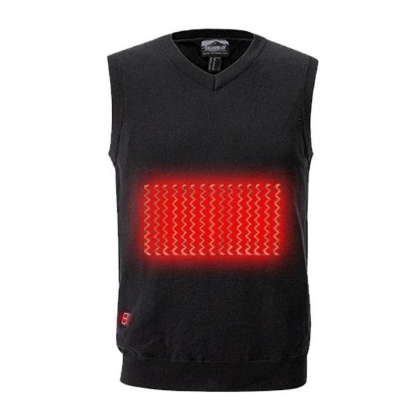 Battery Heated Sweater Men Outdoor USB Infrared Heating Vest Jacket Winter Flexible Electric Thermal Clothing Waistcoat 1d00712b e5b2 4ceb b08a ca4719bcae0f Pull Chauffant Électrique Sans Manche : Un Confort Supérieur En Plus De Votre Style Habituel