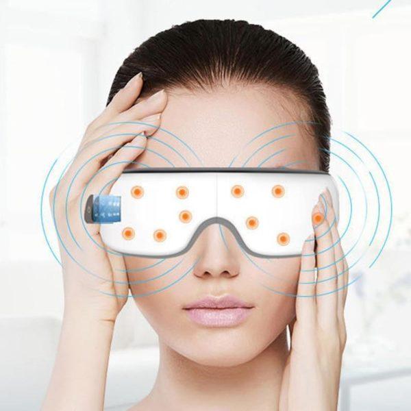 Bew lectrique yeux masseur masque Migraine Vision am lioration front soins des yeux Massage soins de bbf28452 7d19 4264 9d37 472f80e87a7e Masseur Oculaire : Stimulation De La Circulation Sanguine, Soulagement De La Nervosité