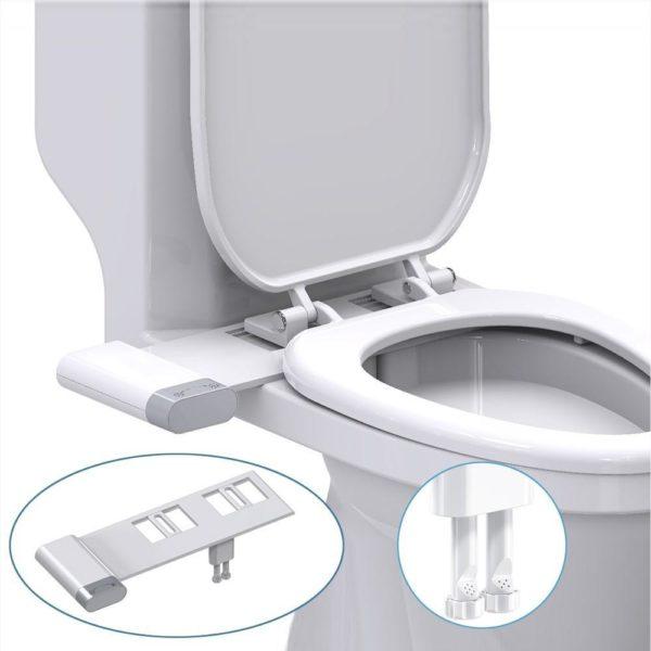Bidetdetoilettenonelectrique 1 Bidet De Toilette Non Électrique: Prendre Soin De Vous Sans Irriter Votre Peau Au Niveau Des Zones Sensibles