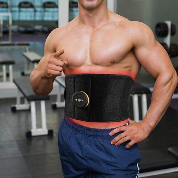 BodyBuild Belt : Ceinture Fitness Vibrante Pour Abdos et Fessiers -
