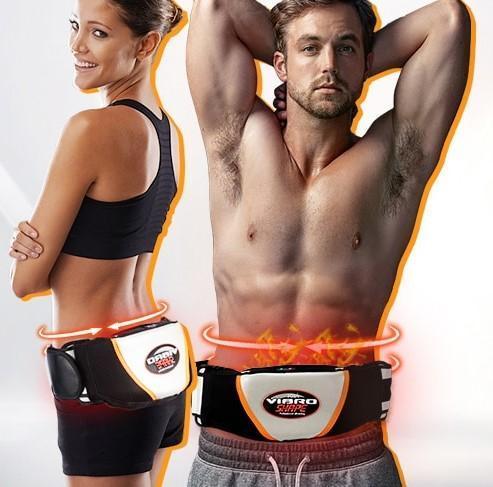 BodyBuild Belt : Ceinture Fitness Vibrante Pour Abdos et Fessiers - Vibration et Chauffage