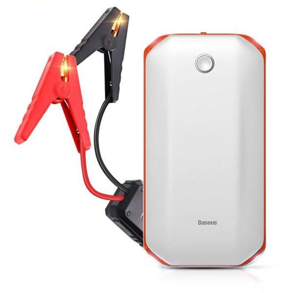 Booster Démarreur Pour Batterie : Oubliez Les Pannes De Batterie - blanc