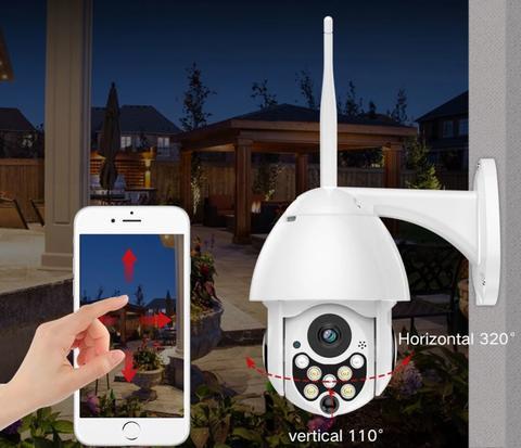 Caméra De Surveillance Extérieure : Étanche À L'eau Et À La Poussière