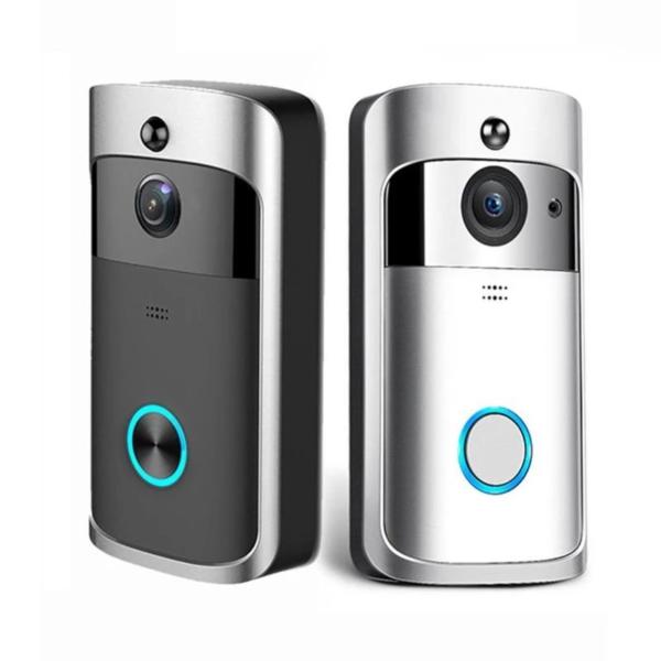 Camera de Surveillance Sans Fil et Sonnette Connectee 720P 9 Caméra de Surveillance Sans Fil et Sonnette Connectée 720P