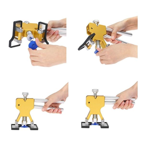 Car Body Dent Repair Tools Dent Removal Puller With 18 Tabs Strong Suction Cup Paint Dent cd516f6c 5426 46f5 b6a6 41b70182a570 Outils D'élimination Des Bosses Sans Peinture: Léger et Durable