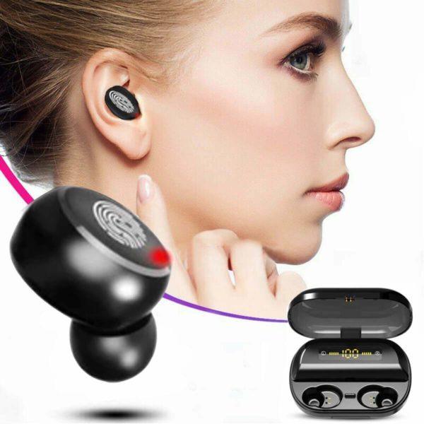 Casque Bluetooth : Avec Technologie Étanche et Sans Fil - 9D 4000 mah