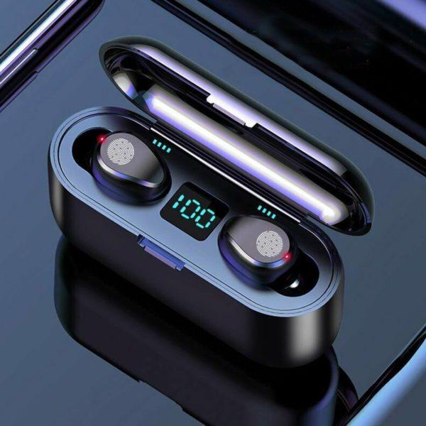 Casque Bluetooth : Avec Technologie Étanche et Sans Fil - 8D 2000 mAh