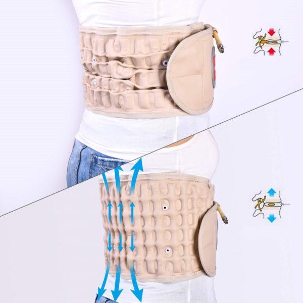 Ceinture Anti douleur Stabilise Le Bas du dos Pour Une Posture Plus Plus Droite Ceinture Anti-douleur : Stabilise Le Bas du dos Pour Une Posture Plus Plus Droite