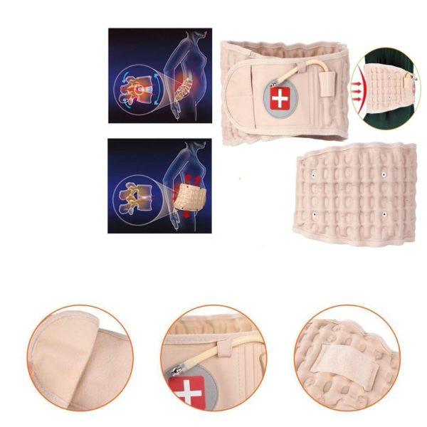 Ceinture Anti douleur Stabilise Le Bas du dos Pour Une Posture Plus Plus Droite 8 Ceinture Anti-douleur : Stabilise Le Bas du dos Pour Une Posture Plus Plus Droite
