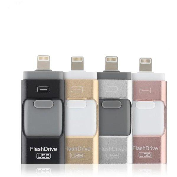 Cl USB pour iPhone X 8 7 7plus 6 6 s 5 SE ipad lecteur de Clé Usb 3 En 1 Pour Smartphone: Sauvegardez Et Restaurez Votre Liste De Contacts