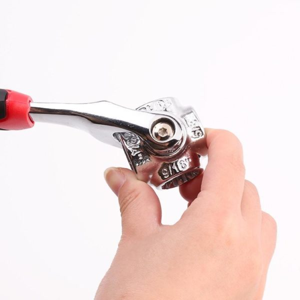 Cl tigre 8 en 1 outils douille fonctionne avec des boulons cannel s Torx 360 degr 4fc1685e 9beb 4b2f b08d 74f6ad8bec5a Clé À Boulon Polyvalente : Rend Toute Réparation Rapide et Facile