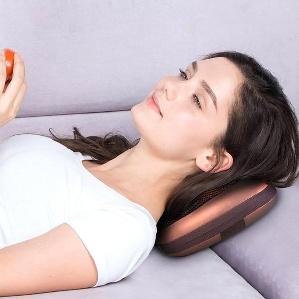 Coussin de Massage Chauffant : Réduisez la Tension et Apaisez Les Muscles Douloureux