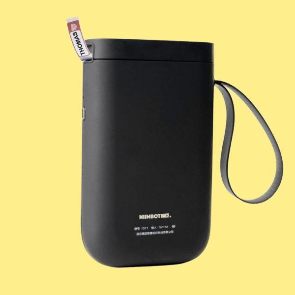 Imprimante D'étiquette Thermique Et Bluetooth: Etiquettez Et Organisez Votre Quotidien - Noir / Pas De Papier Rouleau