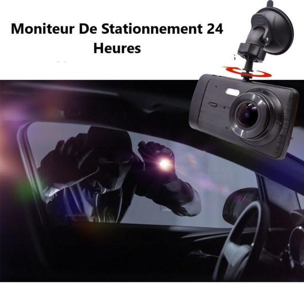 Deelife DashCamCarDVRCamera FullHD1080PVideoRecorderPlayer AutoDash 25 Caméra Enregistreur Vidéo HD Pour Voiture : 1296P HD Dual Lens Avec Enregistrement En Boucle
