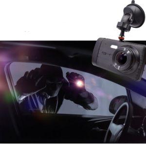 Caméra Enregistreur Vidéo HD Pour Voiture : 1296P HD Dual Lens Avec Enregistrement En Boucle - Sans Caméra Arrière / Sans carte SD